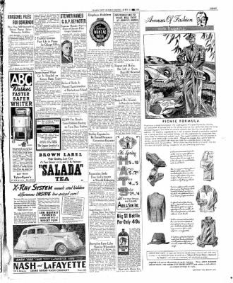 The Mason City Globe-Gazette from Mason City, Iowa on April 21, 1936 · Page 3