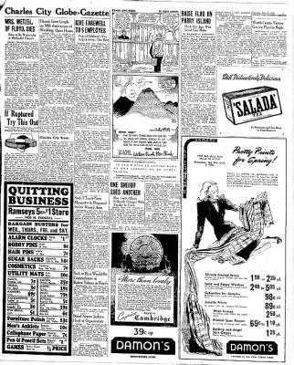 The Mason City Globe-Gazette from Mason City, Iowa on February 29, 1944 · Page 5