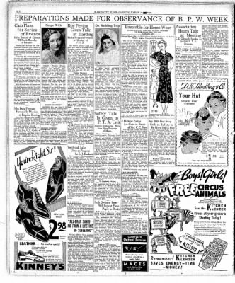 Globe-Gazette from Mason City, Iowa on March 12, 1937 · Page 6