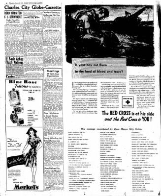 The Mason City Globe-Gazette from Mason City, Iowa on March 2, 1944 · Page 12