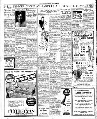 Globe-Gazette from Mason City, Iowa on April 23, 1936 · Page 8
