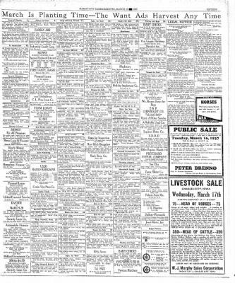 The Mason City Globe-Gazette from Mason City, Iowa on March 13, 1937 · Page 15
