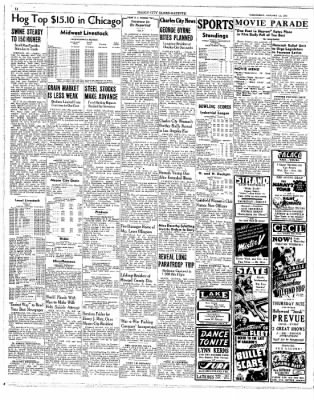 Globe-Gazette from Mason City, Iowa on January 13, 1943 · Page 14
