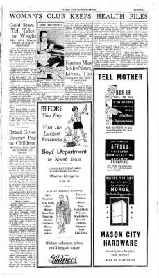 The Mason City Globe-Gazette from Mason City, Iowa on May 1, 1934 · Page 27