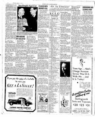 The Mason City Globe-Gazette from Mason City, Iowa on March 28, 1939 · Page 2