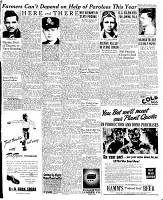 The Mason City Globe-Gazette from Mason City, Iowa on March 9, 1944 · Page 11