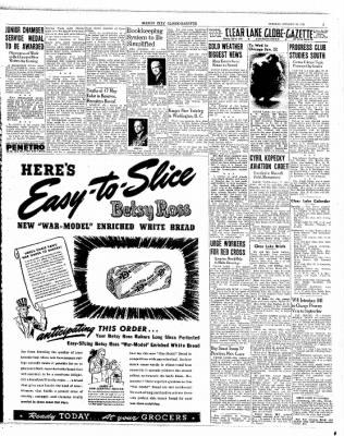 The Mason City Globe-Gazette from Mason City, Iowa on January 19, 1943 · Page 7