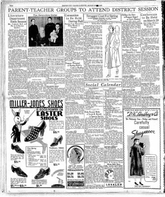 The Mason City Globe-Gazette from Mason City, Iowa on March 18, 1937 · Page 10