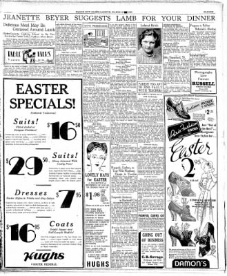 Globe-Gazette from Mason City, Iowa on March 18, 1937 · Page 11