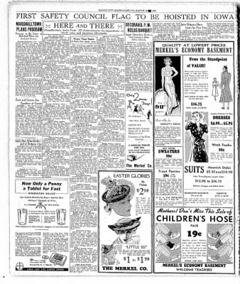 The Mason City Globe-Gazette from Mason City, Iowa on March 18, 1937 · Page 14