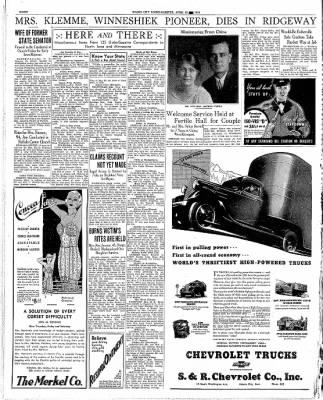 The Mason City Globe-Gazette from Mason City, Iowa on April 29, 1936 · Page 8