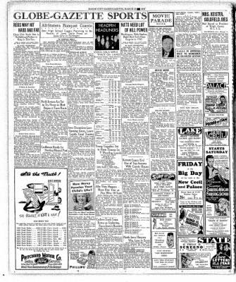 The Mason City Globe-Gazette from Mason City, Iowa on March 18, 1937 · Page 16