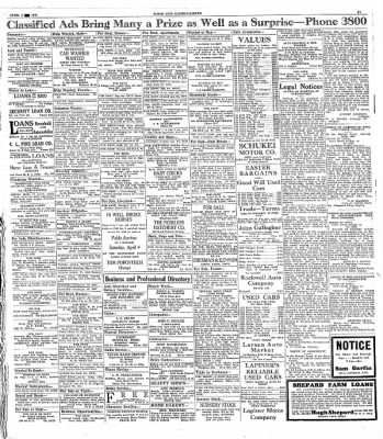 Globe-Gazette from Mason City, Iowa on April 3, 1931 · Page 17