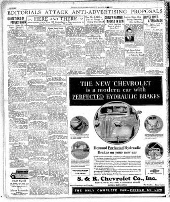 The Mason City Globe-Gazette from Mason City, Iowa on March 19, 1937 · Page 16
