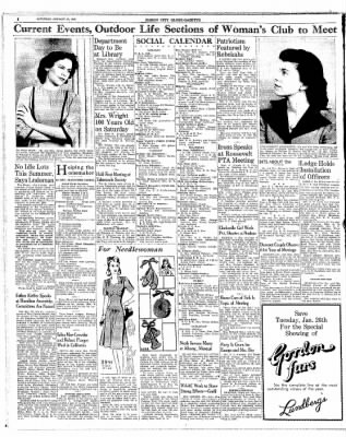 Globe-Gazette from Mason City, Iowa on January 23, 1943 · Page 6