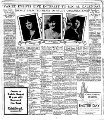 The Mason City Globe-Gazette from Mason City, Iowa on April 4, 1931 · Page 4