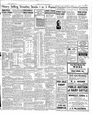 The Mason City Globe-Gazette from Mason City, Iowa on March 31, 1939 · Page 15