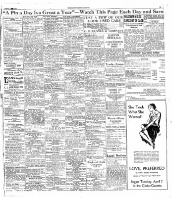 The Mason City Globe-Gazette from Mason City, Iowa on April 4, 1931 · Page 18