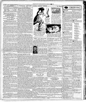 The Mason City Globe-Gazette from Mason City, Iowa on March 22, 1937 · Page 4