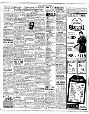 The Mason City Globe-Gazette from Mason City, Iowa on January 28, 1943 · Page 2