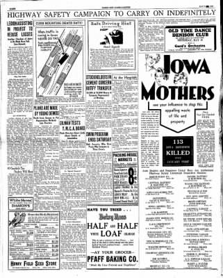 The Mason City Globe-Gazette from Mason City, Iowa on May 9, 1934 · Page 8