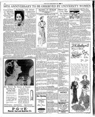 Globe-Gazette from Mason City, Iowa on May 4, 1936 · Page 6