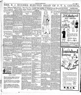 The Mason City Globe-Gazette from Mason City, Iowa on April 8, 1931 · Page 6