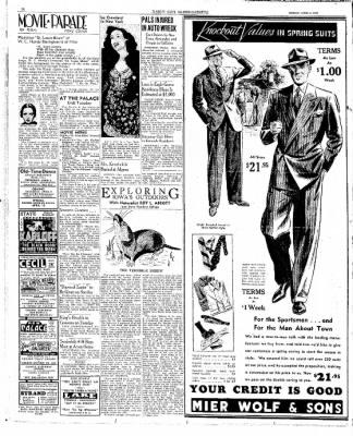 The Mason City Globe-Gazette from Mason City, Iowa on April 3, 1939 · Page 16