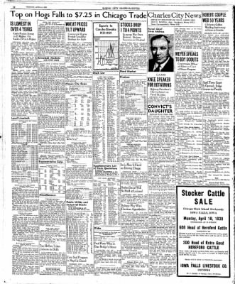 Globe-Gazette from Mason City, Iowa on April 4, 1939 · Page 14