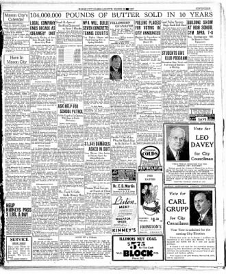 Globe-Gazette from Mason City, Iowa on March 25, 1937 · Page 17