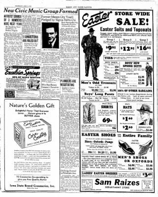 Globe-Gazette from Mason City, Iowa on April 5, 1939 · Page 7