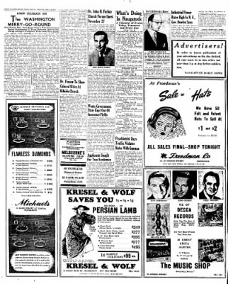 Naugatuck Daily News from Naugatuck, Connecticut on November 18, 1949 · Page 2