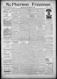 Sample McPherson Freeman front page