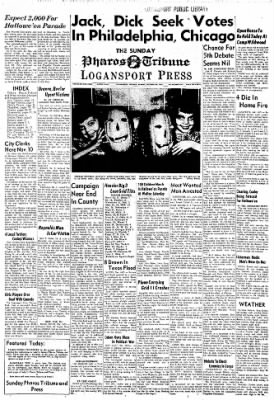 Logansport Pharos-Tribune from Logansport, Indiana on October 30, 1960 · Page 25