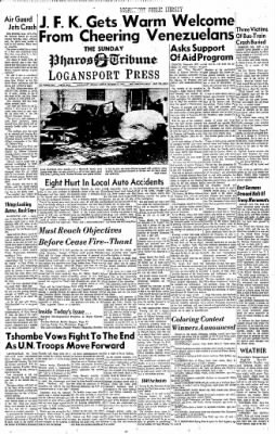 Logansport Pharos-Tribune from Logansport, Indiana on December 17, 1961 · Page 1