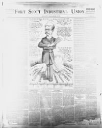 Sample Fort Scott Industrial Union front page