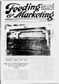 Sample Feeding and Marketing front page