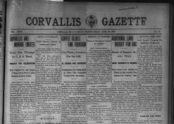 Corvallis Gazette