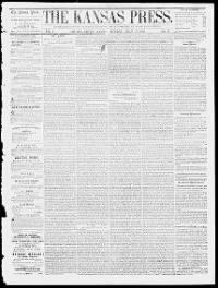 Sample The Kansas Press front page