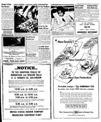 Naugatuck Daily News from Naugatuck, Connecticut on December 2, 1949 · Page 7