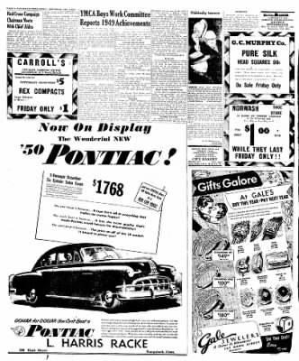Naugatuck Daily News from Naugatuck, Connecticut on December 8, 1949 · Page 4