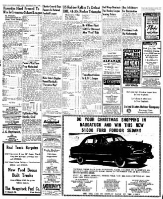 Naugatuck Daily News from Naugatuck, Connecticut on December 8, 1949 · Page 6