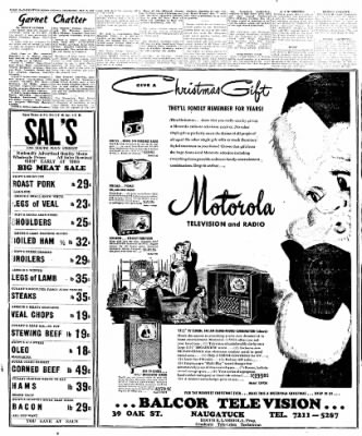 Naugatuck Daily News from Naugatuck, Connecticut on December 8, 1949 · Page 12