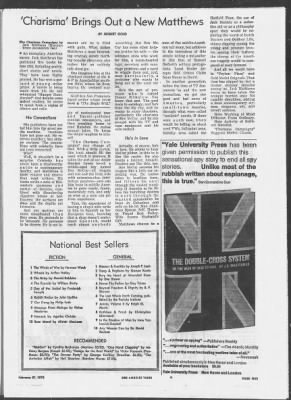 343d3870 The Los Angeles Times from Los Angeles, California on February 27, 1972 ·  517