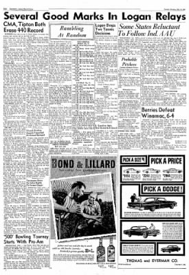 Logansport Pharos-Tribune from Logansport, Indiana on May 15, 1962 · Page 8