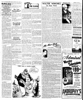 Naugatuck Daily News from Naugatuck, Connecticut on December 12, 1949 · Page 4