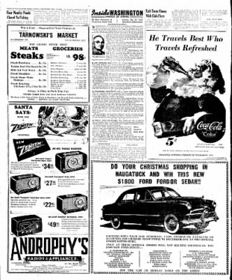 Naugatuck Daily News from Naugatuck, Connecticut on December 15, 1949 · Page 12