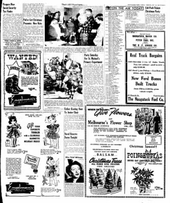 Naugatuck Daily News from Naugatuck, Connecticut on December 16, 1949 · Page 9