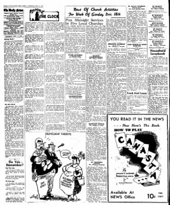 Naugatuck Daily News from Naugatuck, Connecticut on December 17, 1949 · Page 4