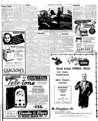 Naugatuck Daily News from Naugatuck, Connecticut on December 19, 1949 · Page 6